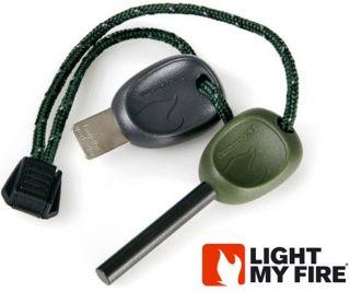 Firesteel Scout 2 0 Light My Fire Steel Black Starter Striker w