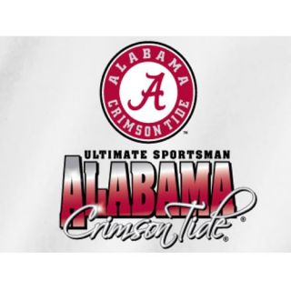 Alabama Crimson Tide Fishing T Shirts Reelin in The Big Game Sportsman
