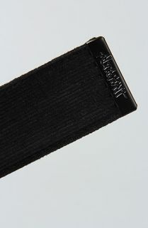Altamont The Company Belt in Black Concrete