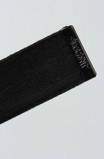 Altamont The Company Belt in Black Concrete