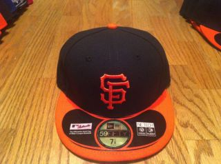 San Francisco Giants Fitted Cap Hat MLB Home on Field Alternate