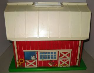 Vintage Fisher Price Little People Play Family Farm 915 Complete VGC