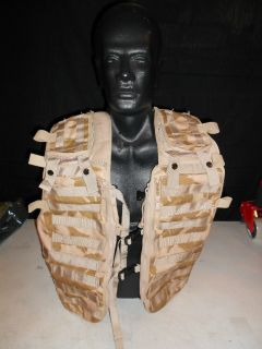 Official Genuine Issue British Army Desert DPM Pattern Load Barring