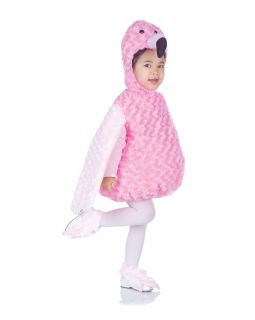Belly Babies Pink Flamingo Costume Child Toddler New