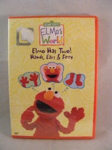 Sesame Street Elmos World   Elmo Has Two Hands, Ears & Feet DVD