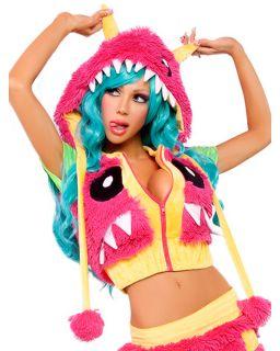 Womens Sexy Deluxe Josie Loves J Valentine Monster Jacket