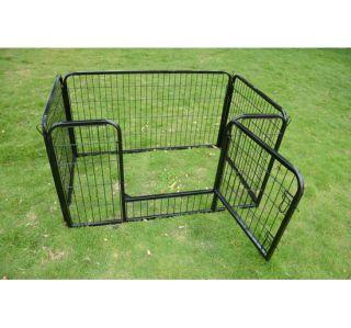 New Heavy Duty Pet Dog Cat Exercise Pen Playpen Fence Yard Kennel