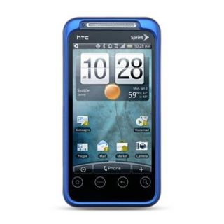 Blissful Blue Cell Phone Cover Case for Sprint HTC EVO Shift 4G