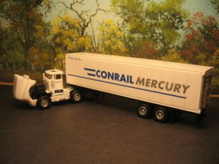 Model Power HO Scale 15004 Conrail Mercury Truck TRLR