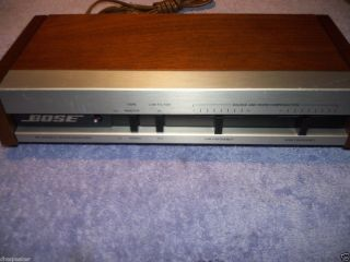 Bose 901 Series IV III Equalizer Updated Upgraded Audiophile Edition