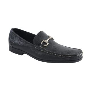 Salvatore Ferragamo Magnifico Black Leather Loafers Shoes Size US 10