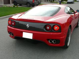 Ferrari 360 Carbon Fiber Rear Tail Lights Panel