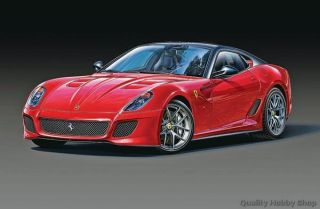 Revell 1/24 scale Ferrari 599 GTO skill 3 plastic model kit#7091