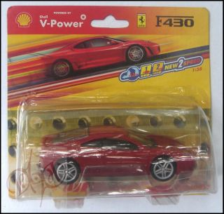 description ferrari f430 scale 1 38 diecast model toy car red powered