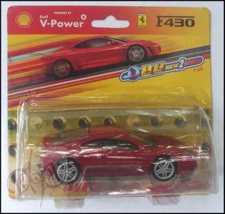 description ferrari f430 scale 1 38 diecast model toy car red powered
