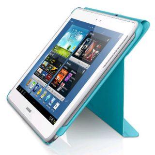 Genuine Samsung Galaxy Note 10 1 Flip Book Cover Stand Case BLUE EFC