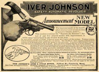 Iver Johnson Auo Revolver Pricing Fichburg Gun Gauge Bulle Firearm