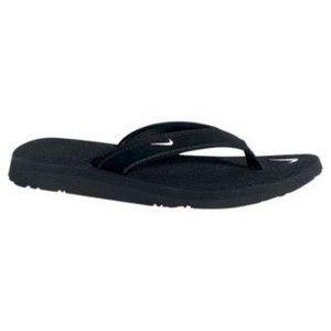 Womens Nike Celso Sandals Flip Flops Size 7 8 9 Black White