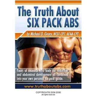 Truth About Six Pack Abs ebook Fitness Health Diet Fat Loss Add Muscle