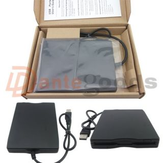 Slim External Portable 3 5'' USB 1 44MB Floppy Disk Drive for