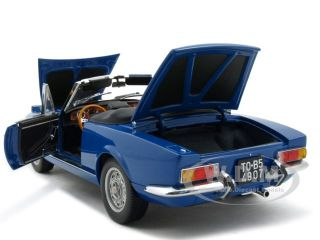 Brand new 118 scale diecast model of Fiat Spider 124 BS die cast