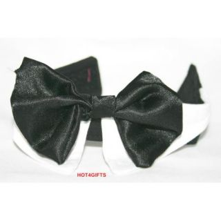 Small Dog Cat Pet Puppy Bow Tie Dress Up Tuxedo Collar