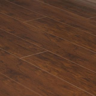Scraped Santos Mahogany Laminate Hardwood Flooring Wood Floor