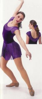 Awakening Ballet Lyrical Ice Skating Dance Dress Costume CS cm CL as