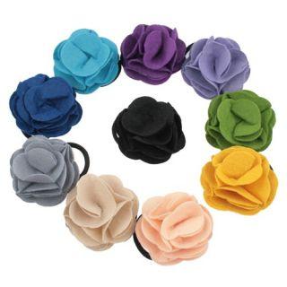 New Fashion Rose Flower Hair Clip Brooch Hair Band Love
