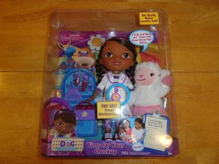 DOC MCSTUFFINS TIME FOR YOUR CHECKUP FULL SIZE TALKING DOLL LAMBIE