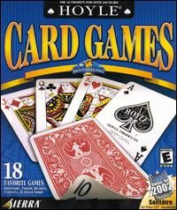 Hoyle Card Games 2001 PC CD Cribbage Euchre Canasta Pitch Tarot