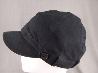 Black Jersey Kni Ha Fidel Cap Cade Newsboy Coon
