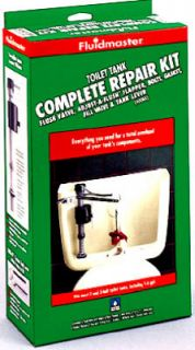 Fluidmaster 400AK Complete Toilet Tank Repair Kit 400A