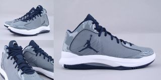 Nike Air Jordan Aero Flight Cool Grey Obsidian Navy 524959 007