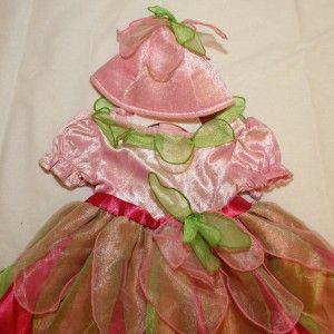 New Koala Baby Flower Fairy Princess Halloween Costume Infant 12M