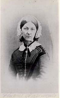 Florence Nightingale Modern Nursing Pioneer Postcard