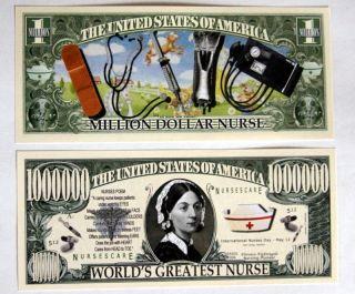 Blood Pressure Florence Nightingale Bandage Million $