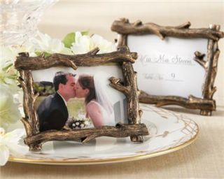 Tree Branch Fall Wedding Reception Autumn Event Frame Place Card