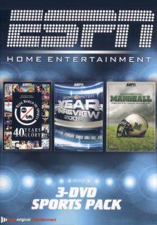 ESPN Home Entertainment 3 DVD Sports Pack DVD 2007
