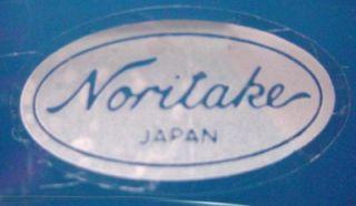 Noritake Crystal Sweet Swirl Sea Foam Green Wine Goblet