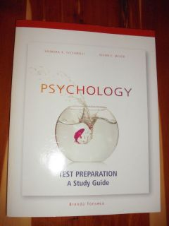 Fonseca Psychology College Textbook and Test Preparation Study Guide
