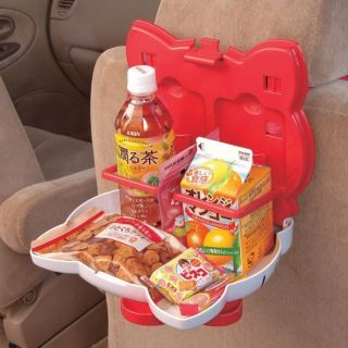 Hello Kitty Convertable Car Meal Food Drink Tray Table for Kid Child