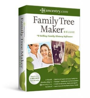 Family Tree Maker Deluxe 2012 PC Software