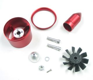 Cyclone Power 70mm 10 Blades Special Metal Ducted Fan Unit