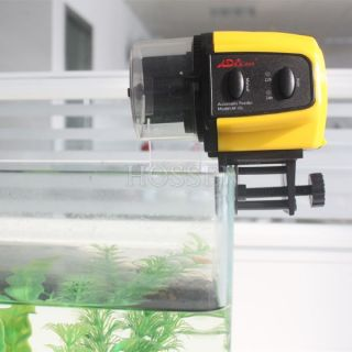 Digital Aquarium Fish Tank Food Automatic Feeder Timer Adjustable
