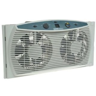Holmes Window Fan Dual Fan Intake and Exhaust Works Great Keep Cool