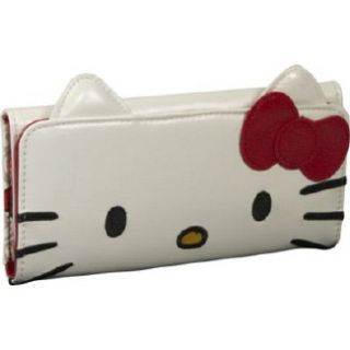 Accessories Loungefly Hello Kitty Face Wallet With E White
