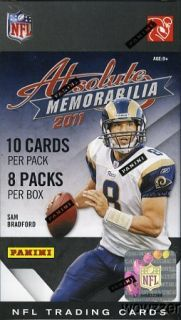 Absolute Memorabilia Football Factory Sealed Box Look for AUTOGRAPH