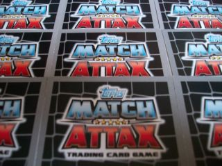 Full Set 16 Topps Match Attax 2011 12 2012 Base Manager Cards Choose