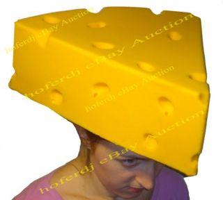 CheeseHead Foam Hat Cheese Head Green Bay Packers NFL Football NEW